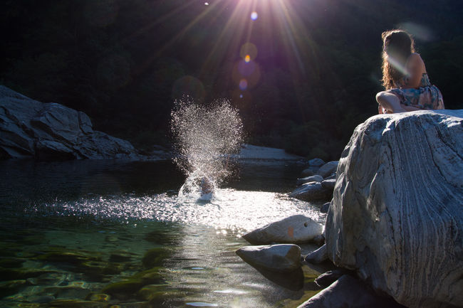 The Magic Mission Heart Natural Pool River Valle Maggia, Switzerland Water People And Places My Year My View Miles Away TCPM Breathing Space