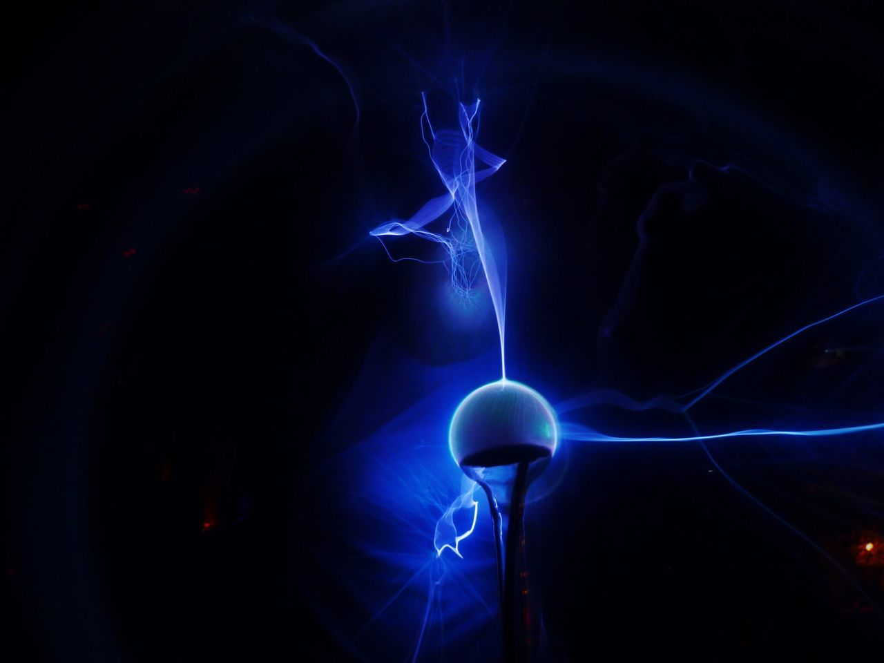 Plasma Globe Plasma Ball Plasma Sphere Nightclub Club Tresor Berlin