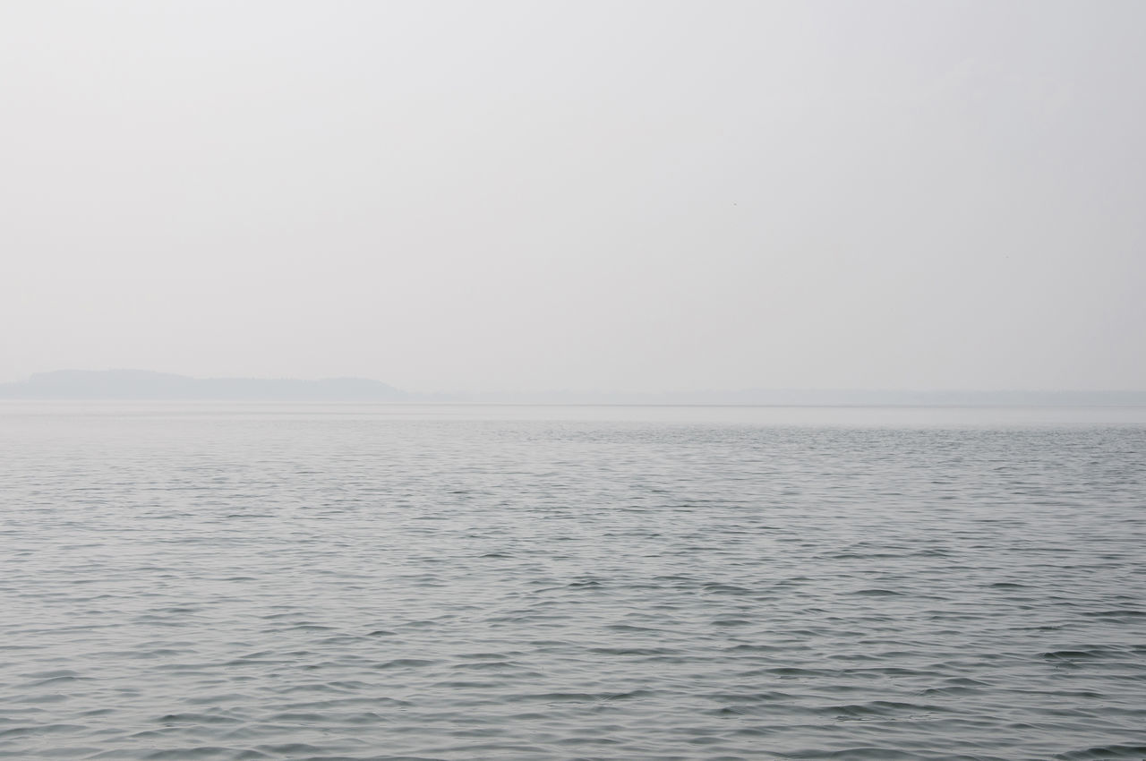 lake Copy Space Day Fog Island Lake Lake View Nature No People Outdoors Scenics Sea Sky Tranquil Scene Tranquility Water Wideness