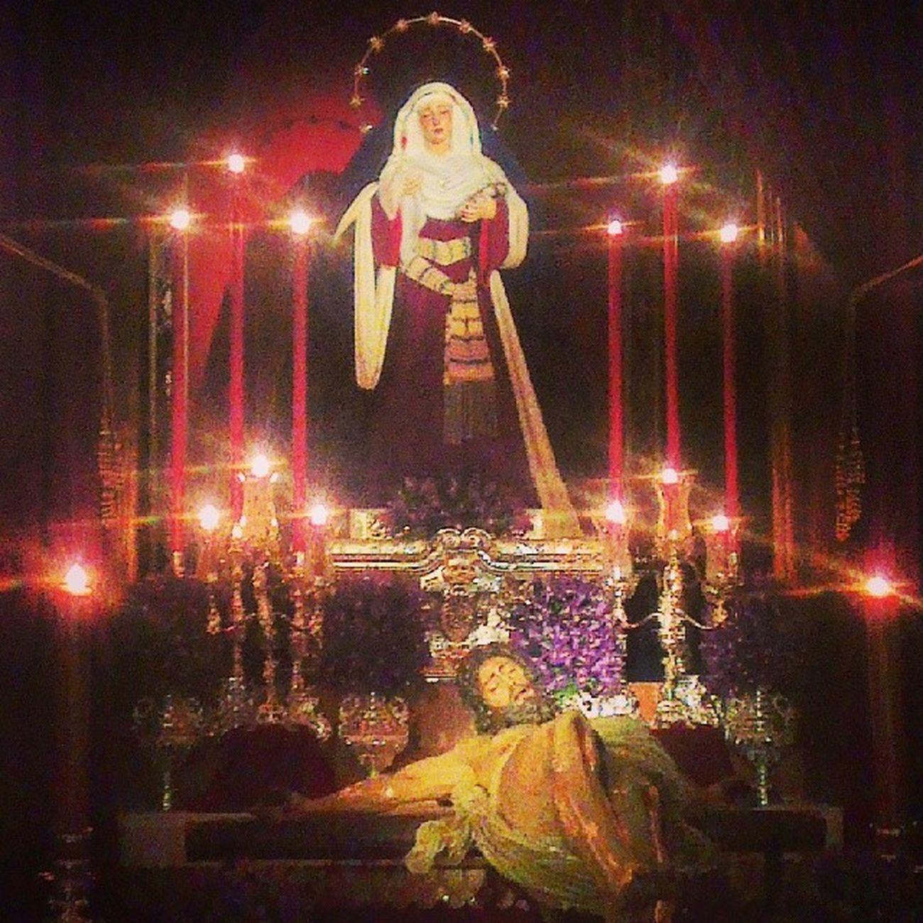 Precioso besapies del Cristo de las Cinco Llagas Trinidad Cuaresma2014