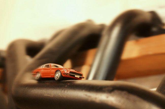 The curve slows‼ Taking Photos My Hobby 240Z FairladyZ Minicar In My Garage Headers