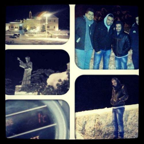 Annaya Marcharbel  Saintcharbel Snow crazy night winter best moments guys instapic instagra