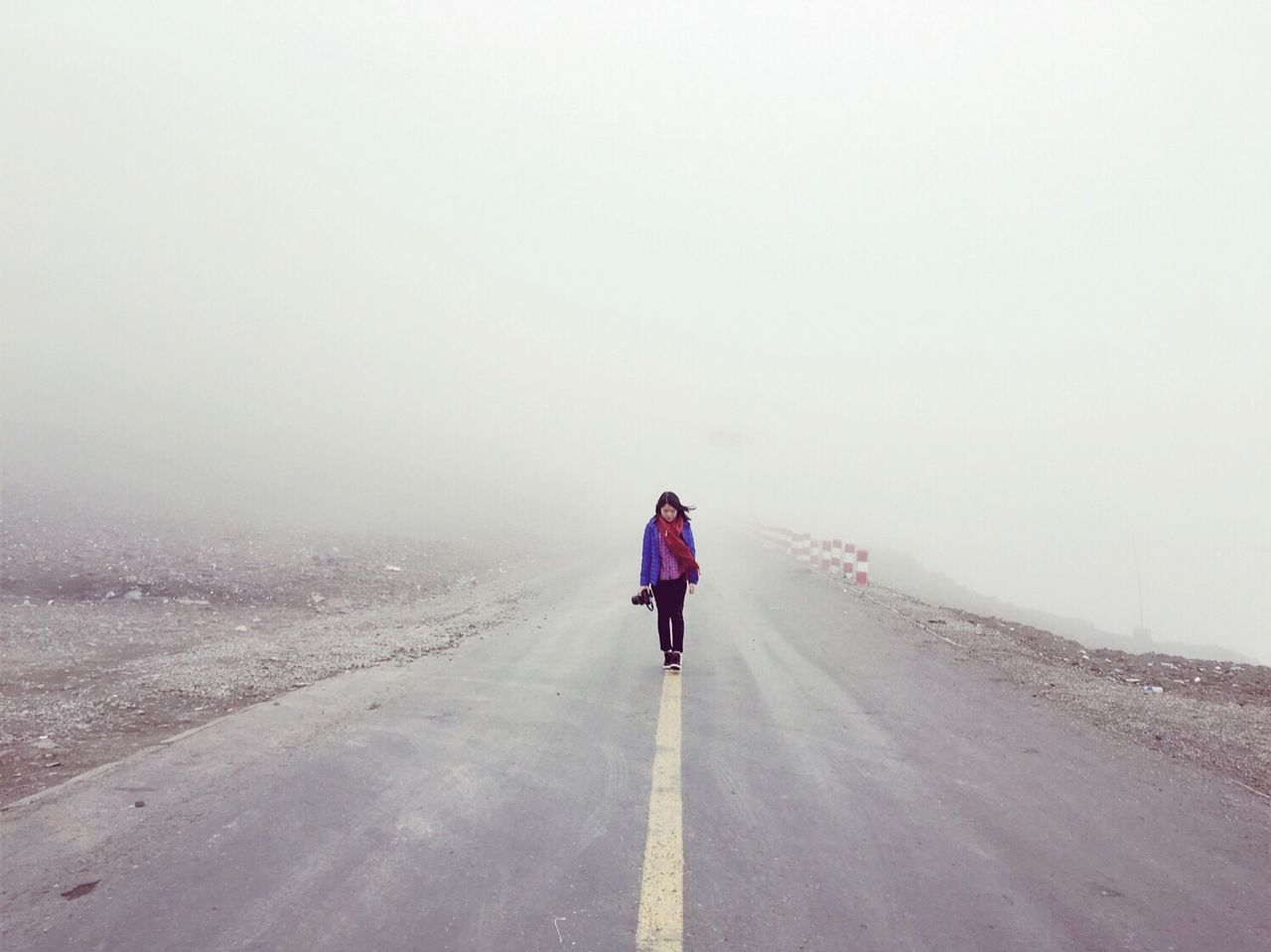 Mirror Of The Sky Caka Salt Lake Fog A place to stimulate.Qinghai, China