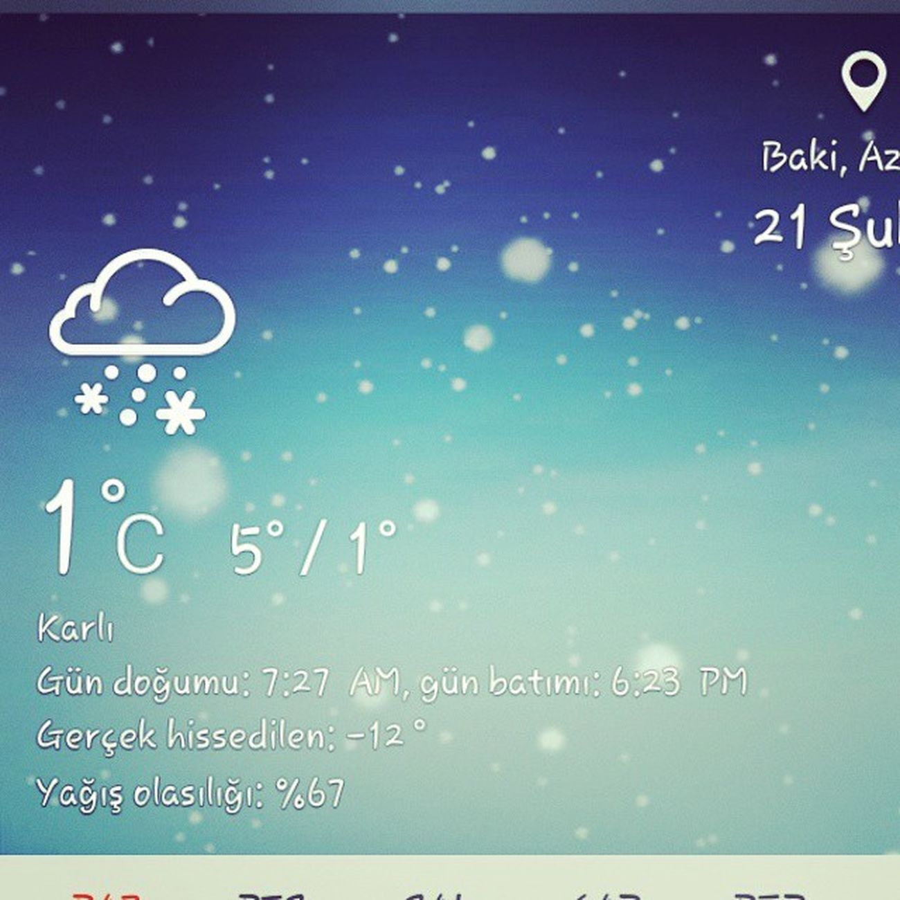 Snow Qar Qış