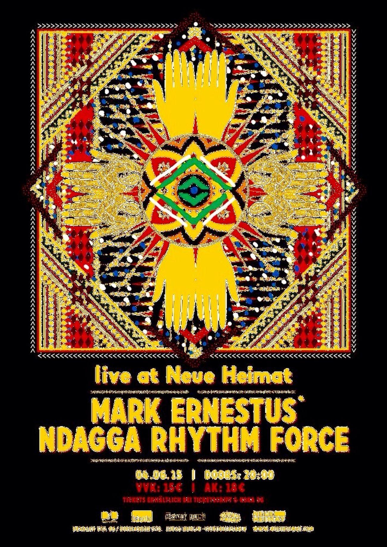 Live@ Neue Heimat : Mark Ernestus ' Ndigga Rhythm Force