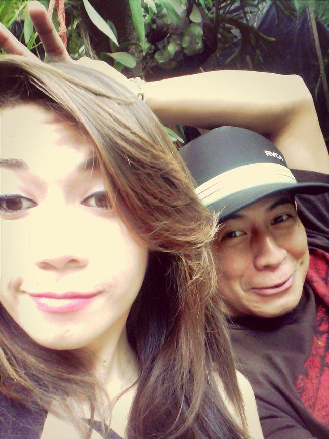 Carita Chistosa!!!! ? ❤ ? ? Chris & Clelian My Babe And Me Enjoying Life