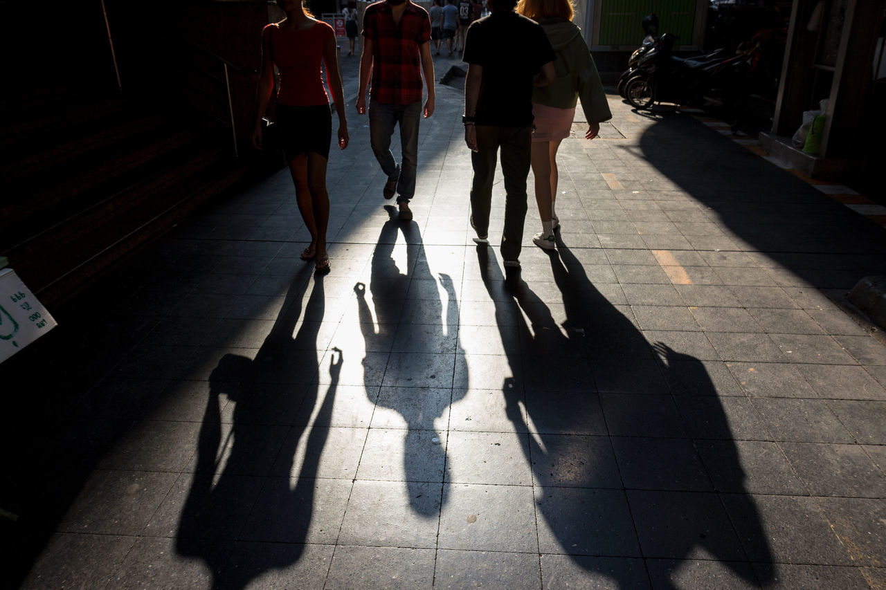 snap shot of people and shadow on walking street Candid Candidshot Centerpoint City Life Footpath Leisure Activity Lifestyles Light And Shadow Outdoors Outline Pointandshoot Shades Of Grey Shadow Siamsquare Sillouette Snap Snapshot Street Streetlife Streetphotography Streetphotographythailand Streetshoot Walkingstreet