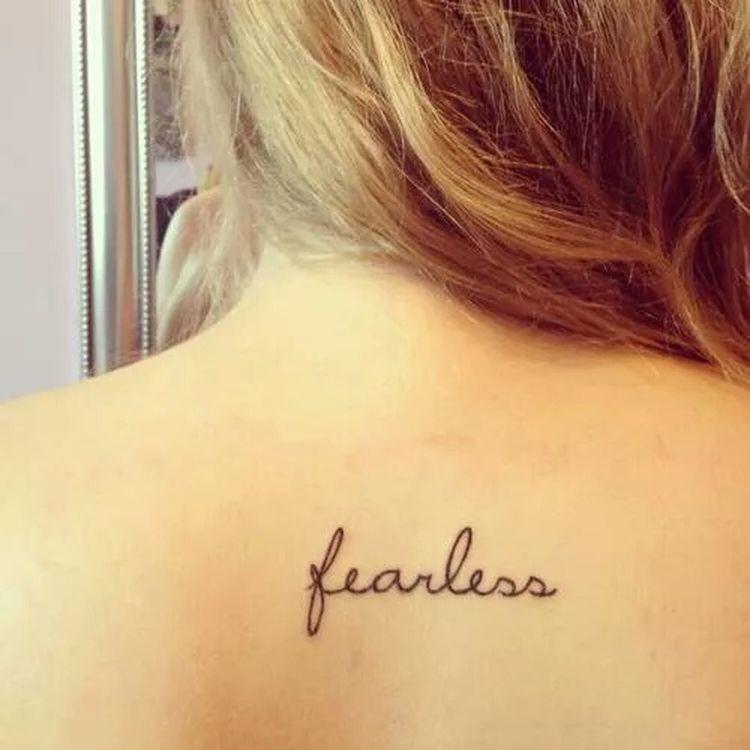 Tattoo Tatoo *.* Fearless FEARLESS(: