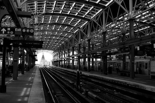 Train Station Black Blackandwhite Blackandwhite Photography Train Tracks Black And White Photography EyeEm Best Shots - Black + White Black And White Blackandwhitephotography Travel Travel Photography