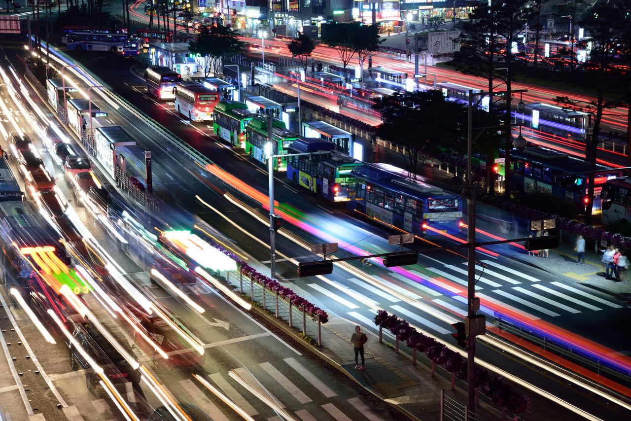 Bus Station Bus Stop Night View Nightphotography Seoul_korea Street Life Street Photography Streetphotography