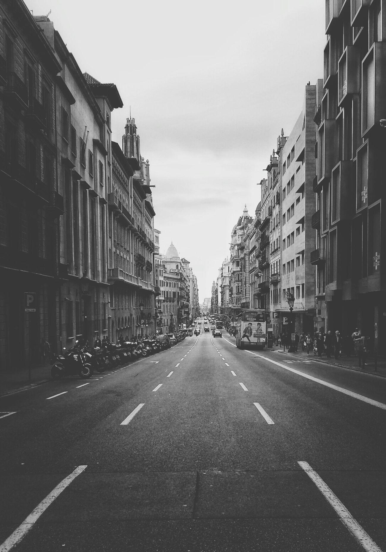Barcelona Black & White Monochrome Street Photography Mi Serie Barcelona