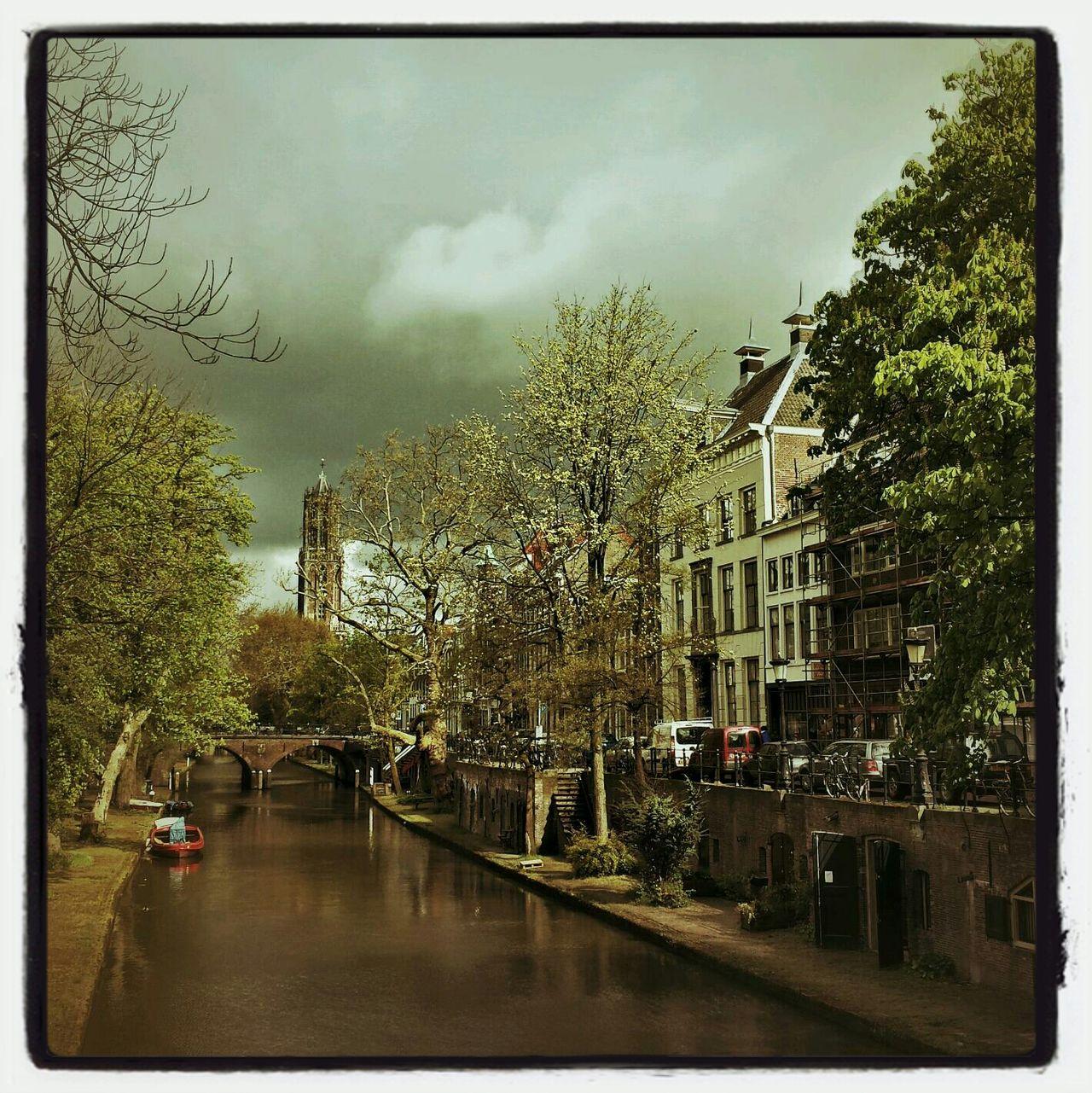 Oudegracht in Utrecht the Netherlands The Explorer - 2014 EyeEm Awards Utrecht City Eye For Photography