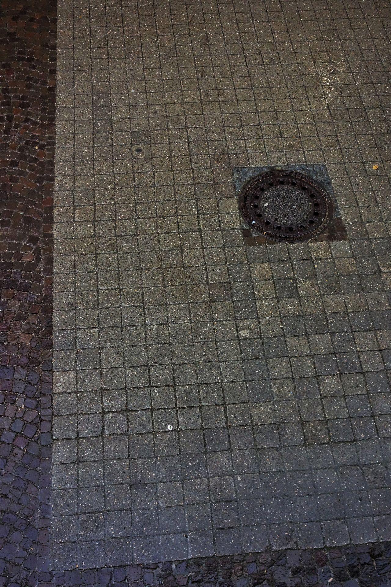 The view Stone Street Bricks Brick Brickporn Gulli Pflastersteine