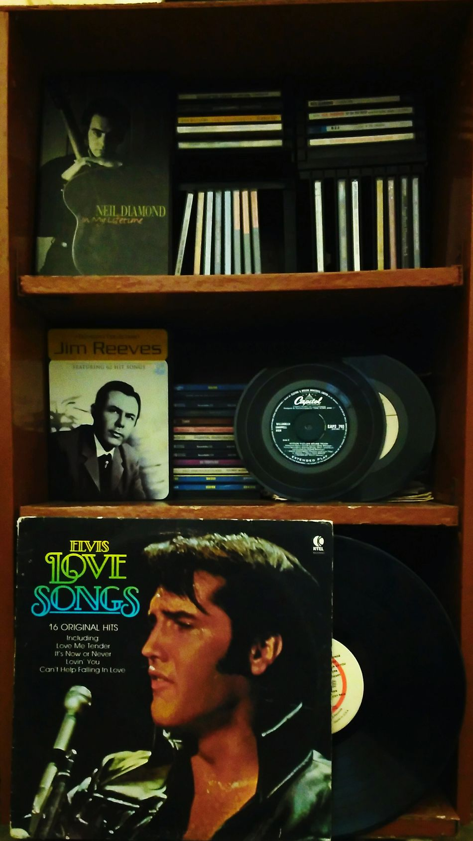 Song Shelf Elvis Neil Diamond Jim Reeves Old Friends Soul Music TakeoverMusic