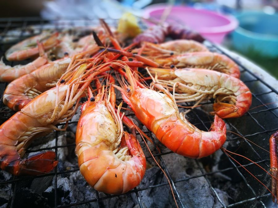 seafood cooking Chrimp Seafood Food And Drink Crustacean Food No People Freshness Healthy Eating Prawn Outdoors Day Close-up Nature Ready-to-eat