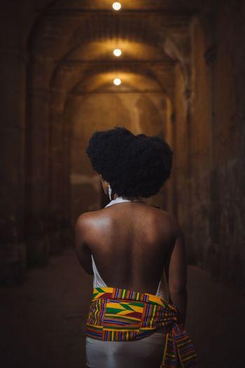 EyeEm Selects Ghana Portrait Portrait Of A Woman Night Young Women Press For Progress
