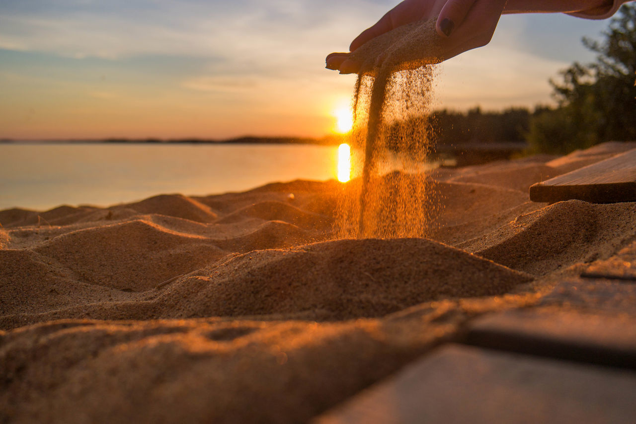 Beautiful stock photos of time, Beach, Beauty In Nature, Dusk, Finland
