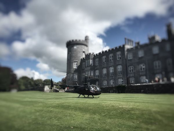 Gangsters Paradise Helicopter at Dromolandcastle