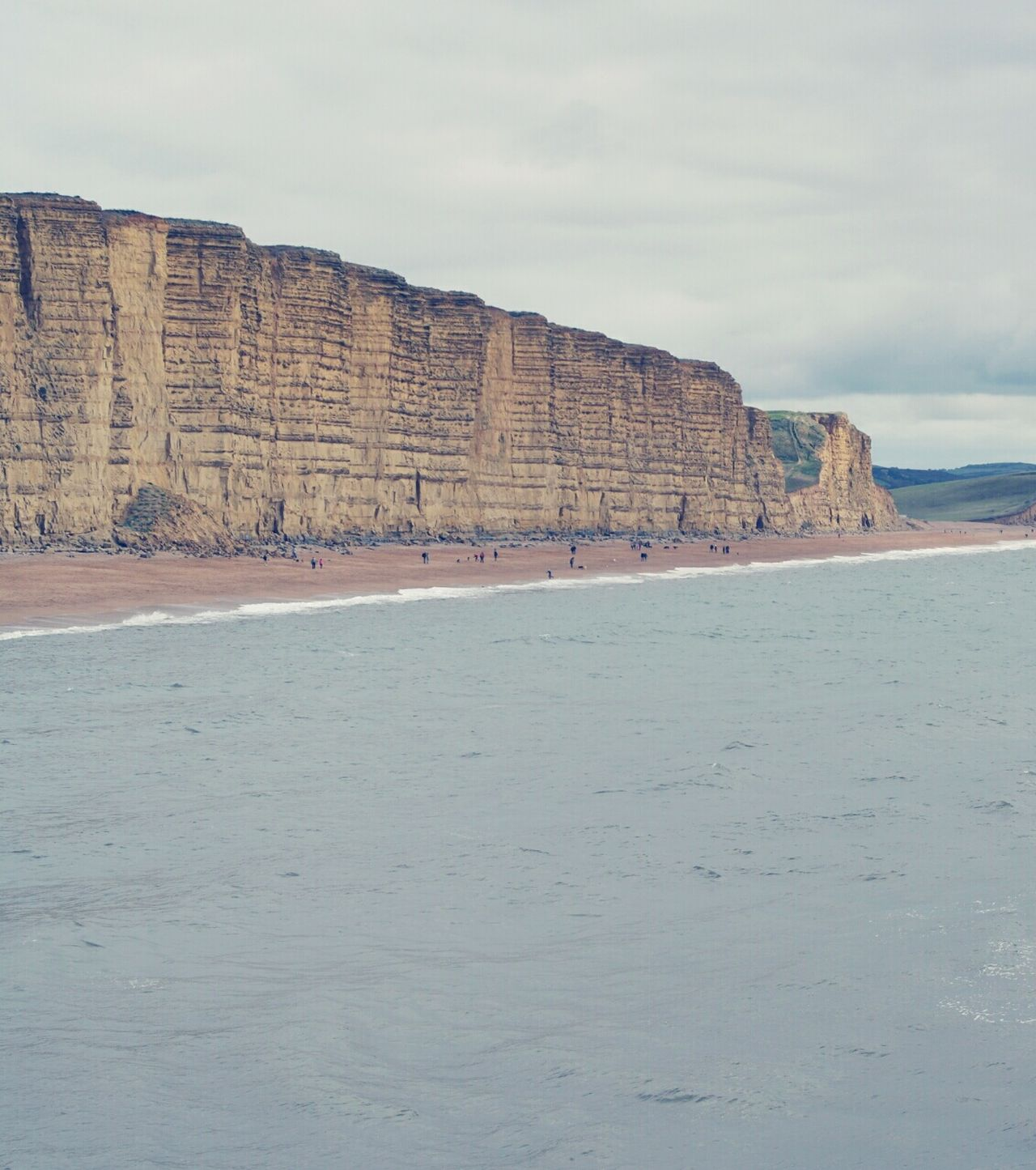 Sea Jurassic Coast Seaside Beach Landscspe