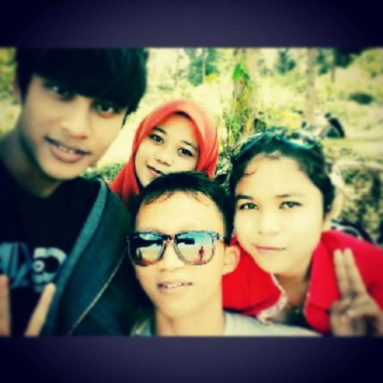 Beach Ujunggentengbeach Holiday Family selfie lol