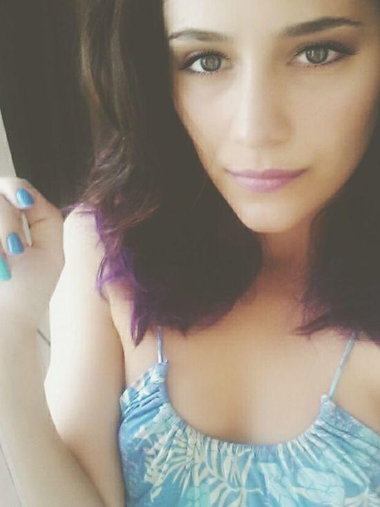 Violet Hair New Good Morning✌♥