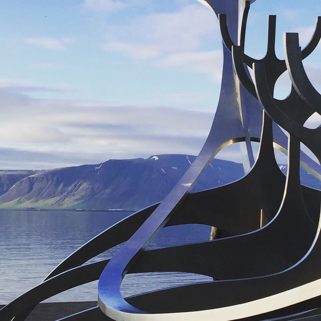 Reykjavik Iceland2016 Icelandtrip Iceland Memories Vikingmonument Vikinglandingpoint Lovemylife Beautiful Enjoying Life Thingsthatmakemehappy Iceland_collection Iceland2106