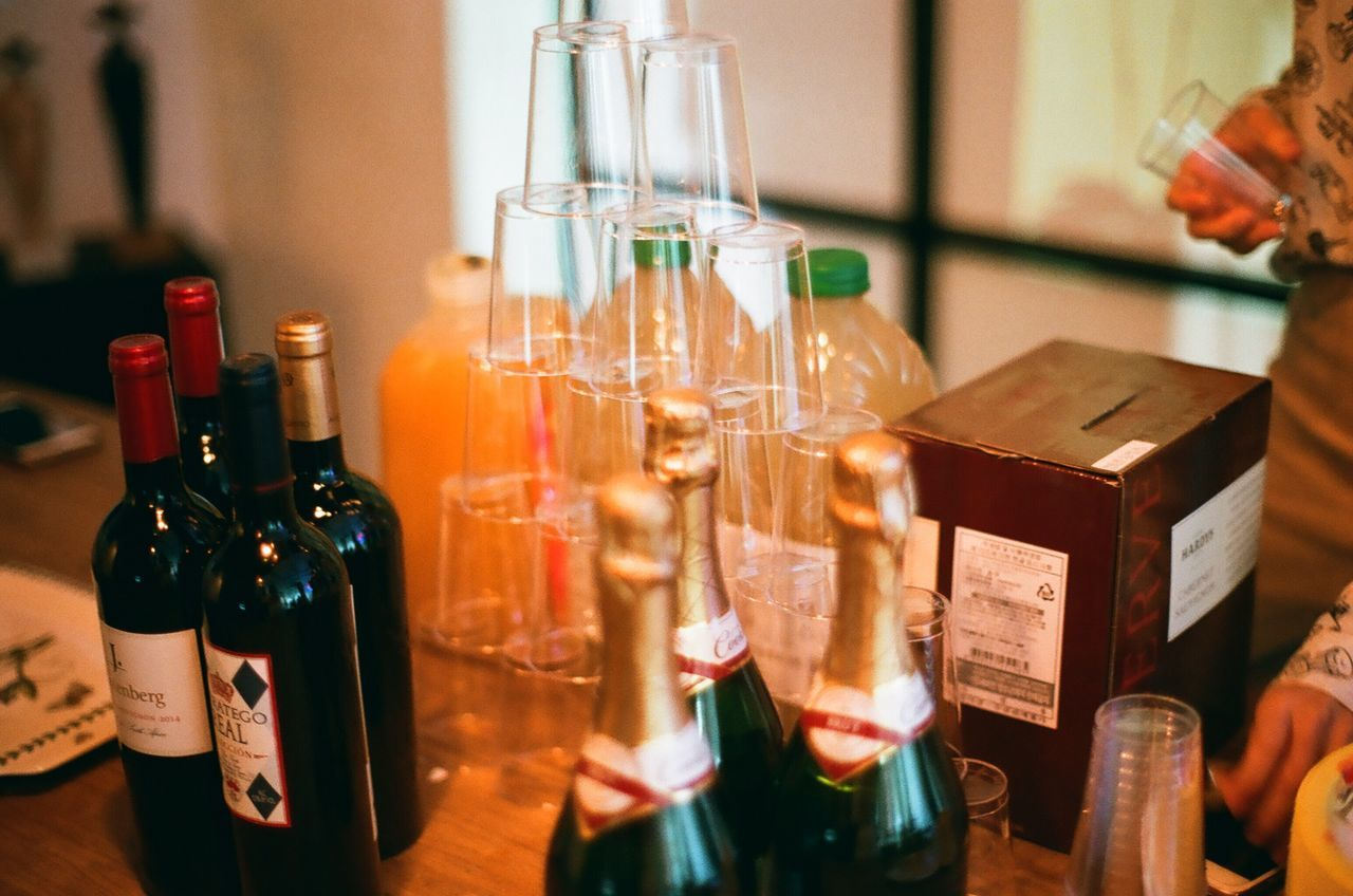 Exhibition Opening Day Party Let's Drink!:)^^ Minolta Alpha9000 Camera