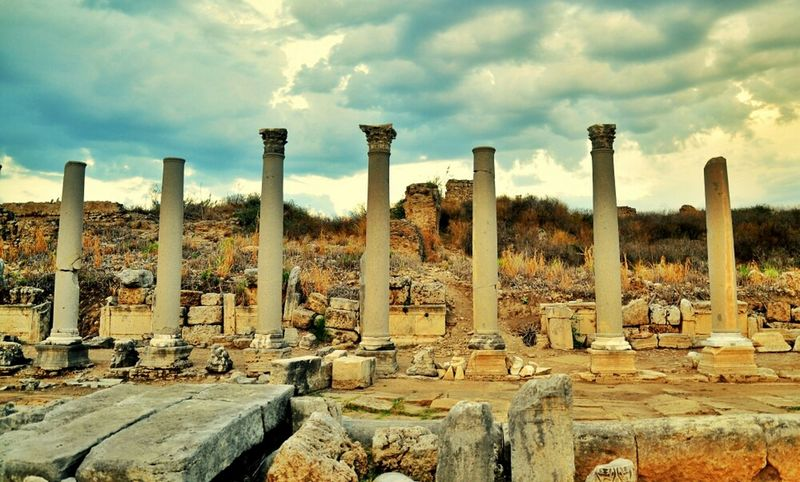 Architecture Ancient Ancient Architecture Perge