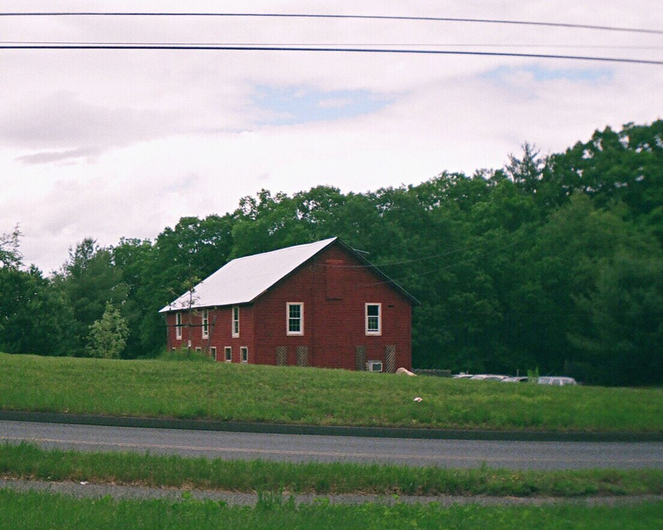 Building Exterior Cloud - Sky Country House Country Life Grass Film Sprocket Rocket Panorama Farmhouse Barn Koduckgirl