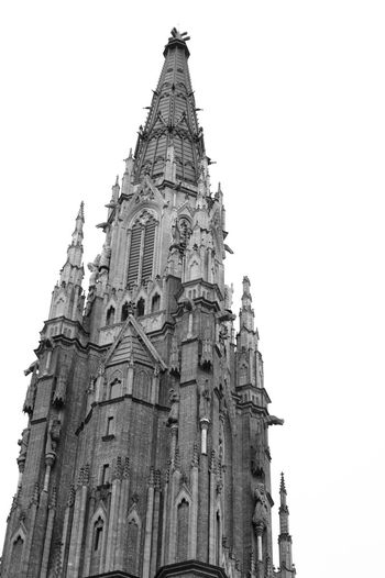 La Plata's Cathedral Black And White Photography Architectural Detail Gothic Church Exploring Sony A58