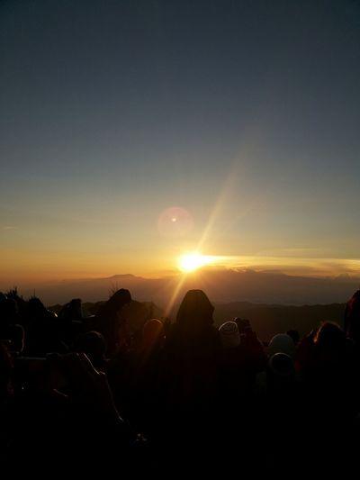 sunrise from Bromo Indonesia Hello World