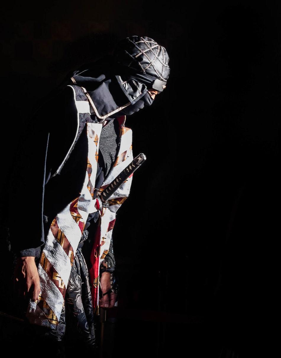 Ninja performance, Uzumasa, Kyoto. Kyoto Portrait Shadow Ninja Japan 忍者 京都 映画村