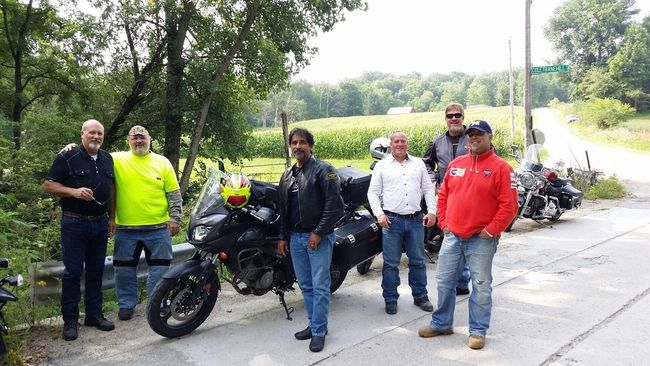 Me and the guys. Motorcycles Taking A Break Backroads Get Lost
