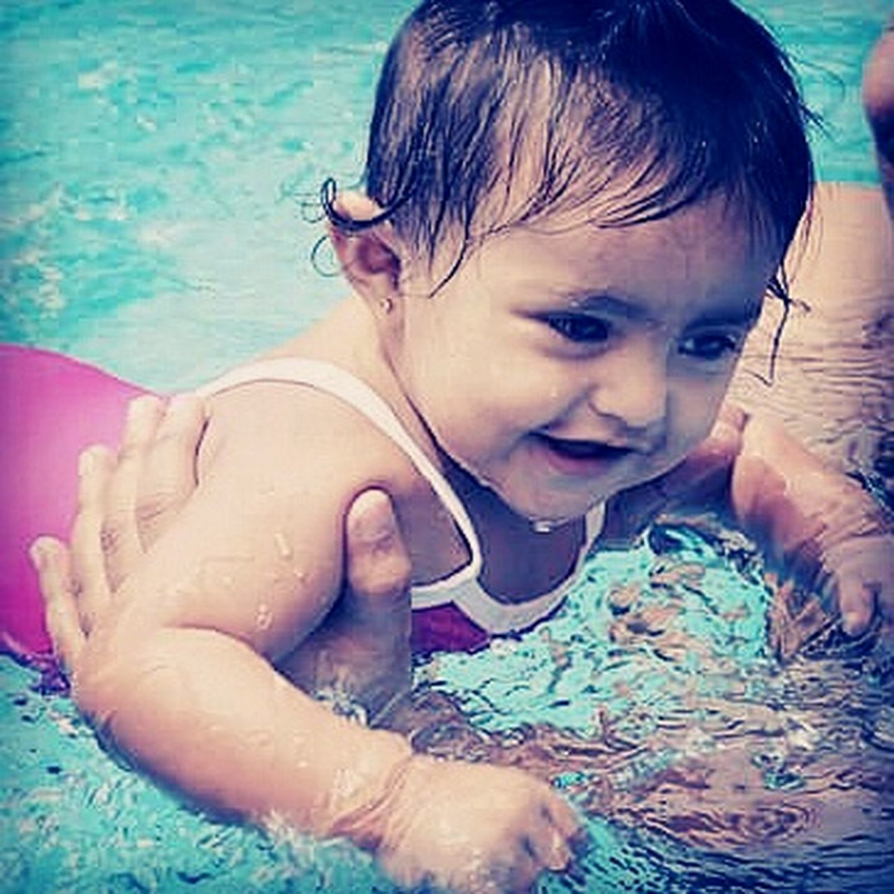 Water Baby! Water Vacations Innocence Outdoors Baby Photography Babygirl Babylove Babymodels Babymodel Swimming Swimming Pool Swimmingtime Babyswimming Swimming :) Summer Relaxation Carefree Innocence