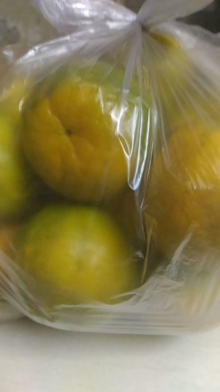 food and drink, food, freshness, yellow, close-up, plastic, no people, fruit, healthy eating, indoors, ready-to-eat, day