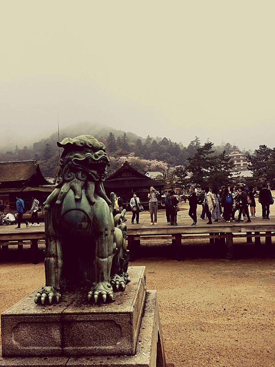 Hiroshima -Miyajima Statue Sculpture Architecture Japan Japan Photography Temple Island