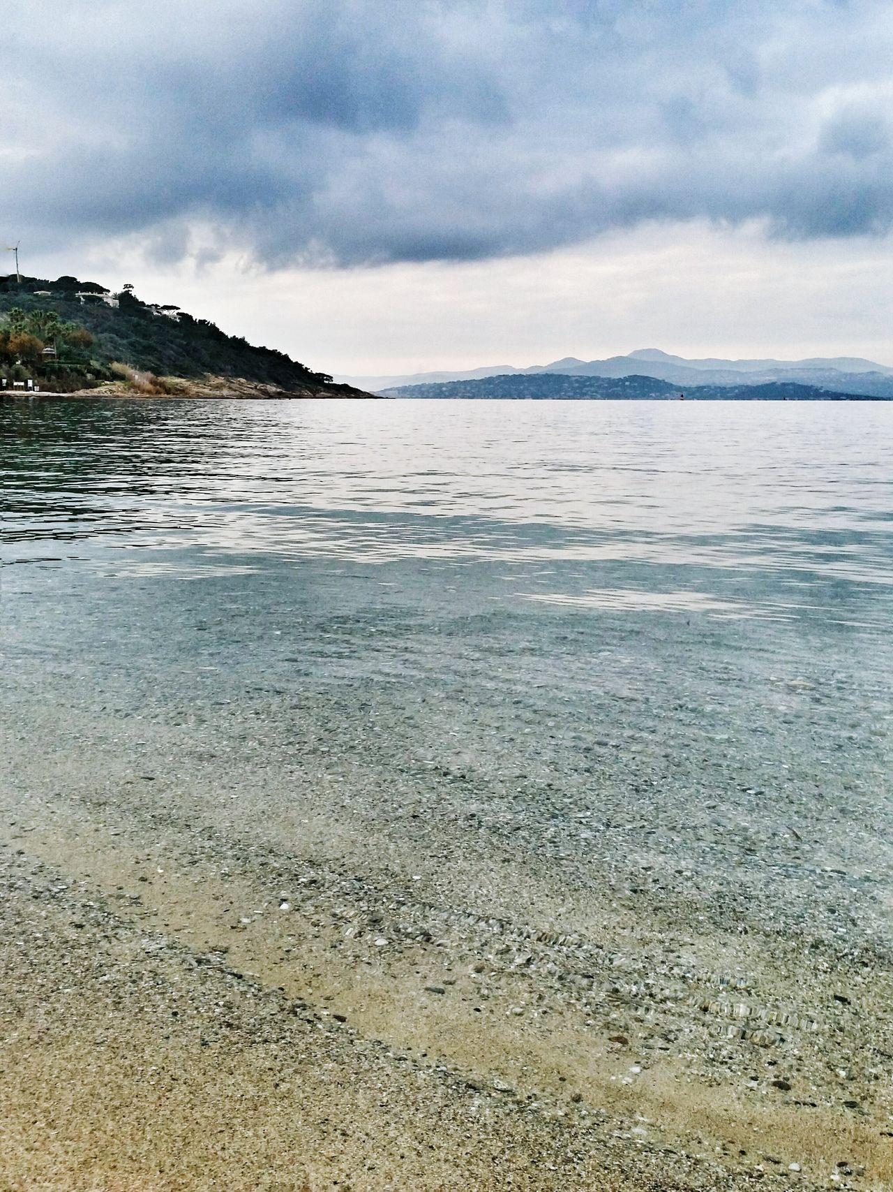 Saint Tropez Beach Sea Les Salins Provence