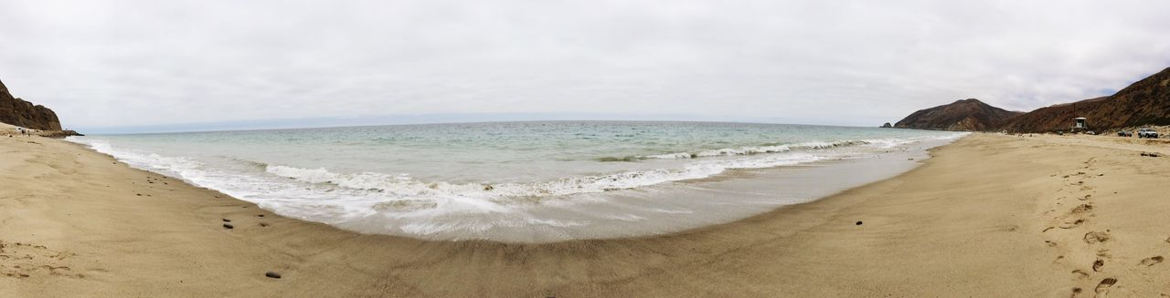 Beach Ocean Point-mugu-state-park Point Mugu State Park Panorama Sea Horizon Over Water Sand Scenics Water Tranquility Beauty In Nature Shore Nature Tranquil Scene Sky Outdoors No People Day Wave
