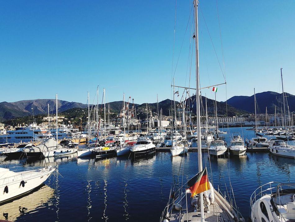 Harbor City Cityscape Genova Genoa, Italy, Europe, Liguria Sea Mare