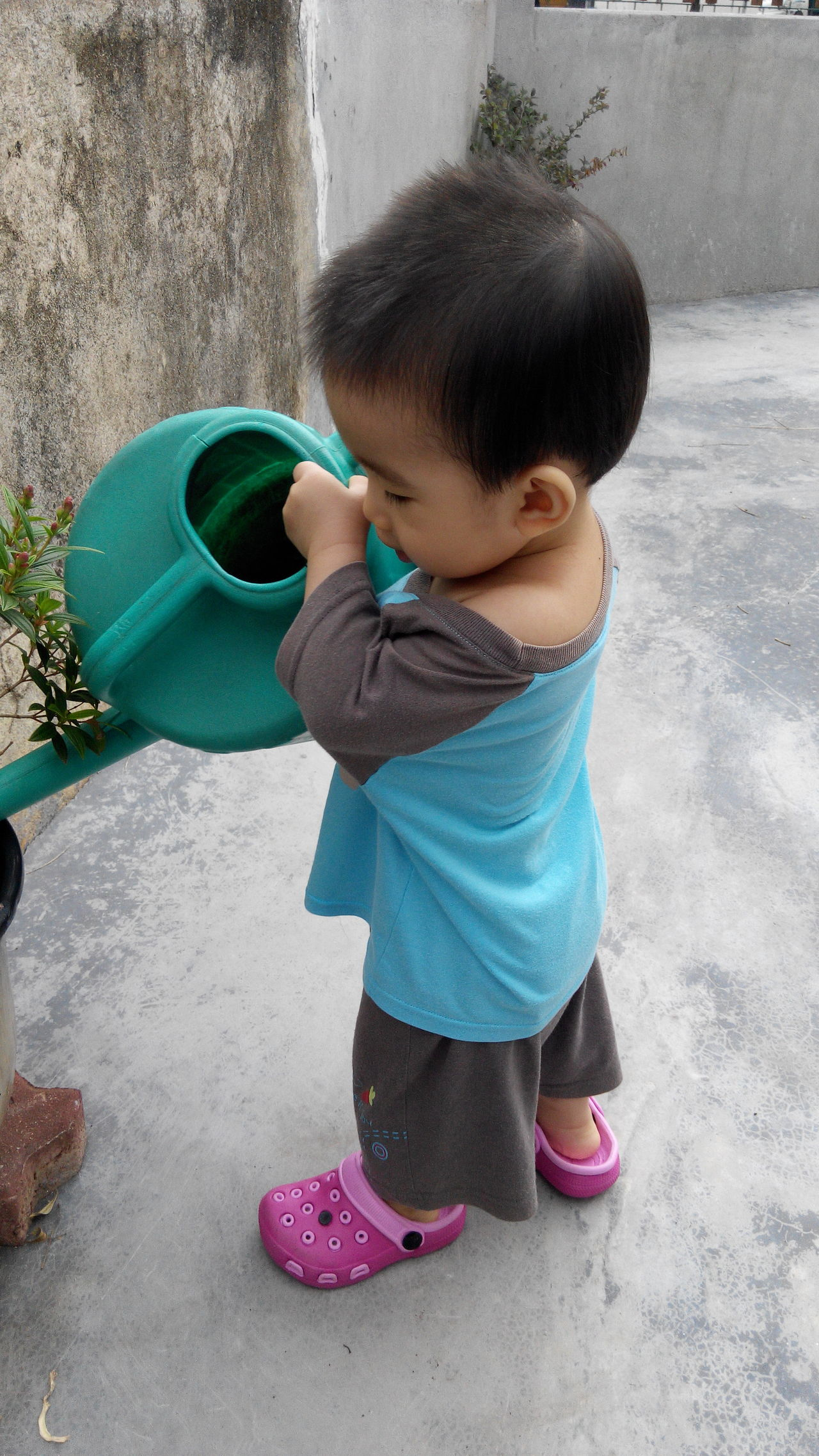 Day Outdoors Spirituality Human Representation Freshness Plant Fragility Watering Flower