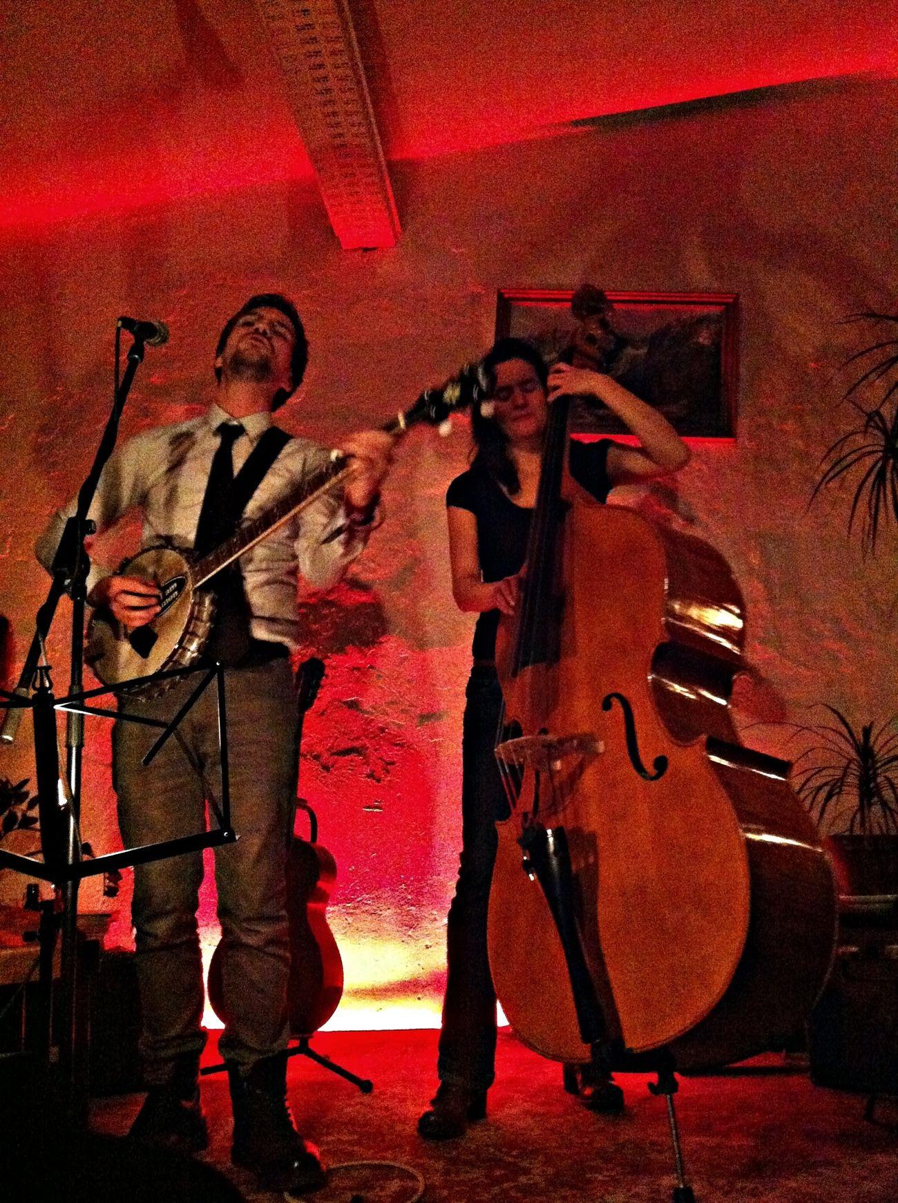 Concert Banjo Contrabass Live Music