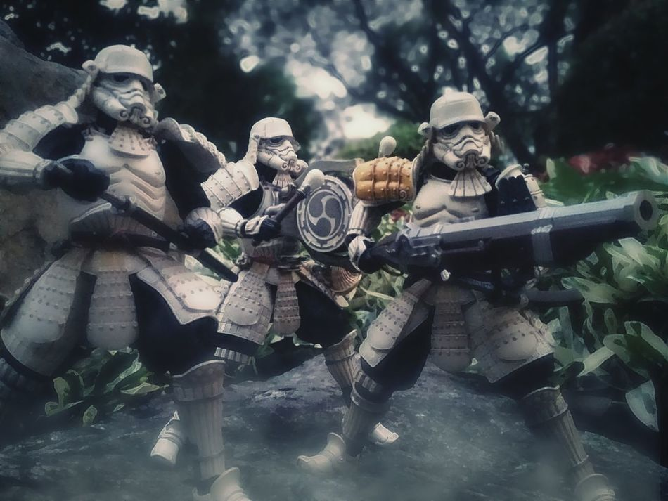 For the Honor of the Empire Movie Realization Star Wars Ashigaru Stormtrooper Teppo Ashigaru Sandtrooper Taikoyaku Stormtrooper Toy Photography Toys Action Figures BANDAI