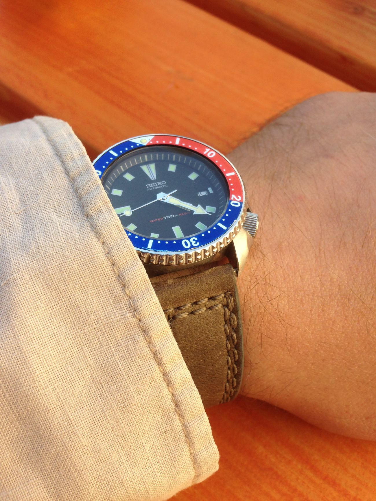 Seiko 7002 Diver Watch Daily Beater