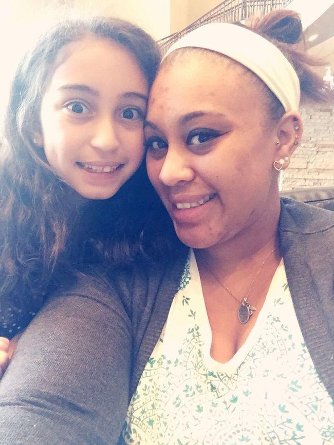 My oldest Daughter & I