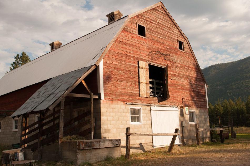 Beautiful stock photos of farm, Architecture, Building Exterior, Built Structure, Cloud