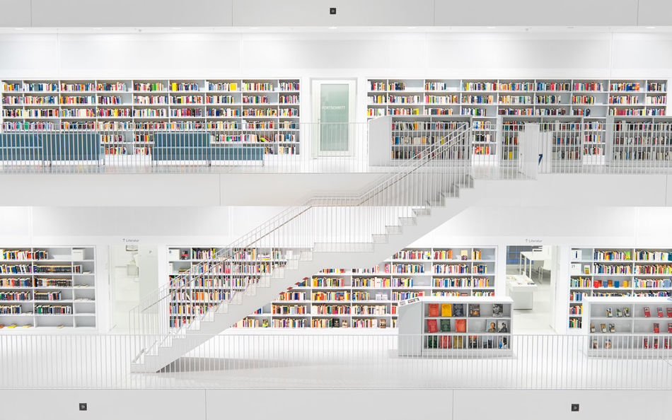 Beautiful stock photos of bücher, shelf, bookshelf, abundance, indoors
