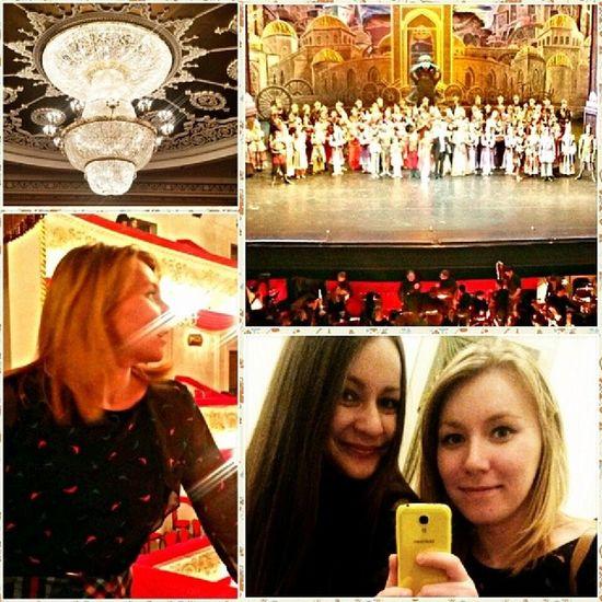 культурничаем С @floret_di посетили балет золотая орда Дико понравилось!) алтын урда театр_оперы_и_балета