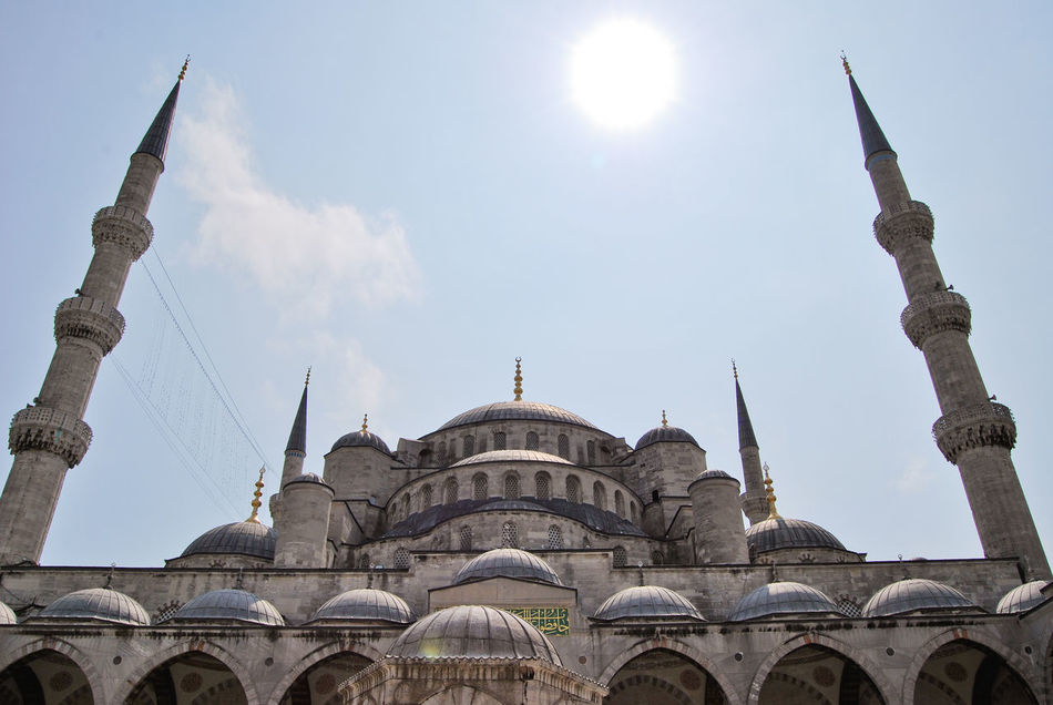 Beautiful stock photos of sommer, Architecture, Blue Mosque, Bright, Building Exterior