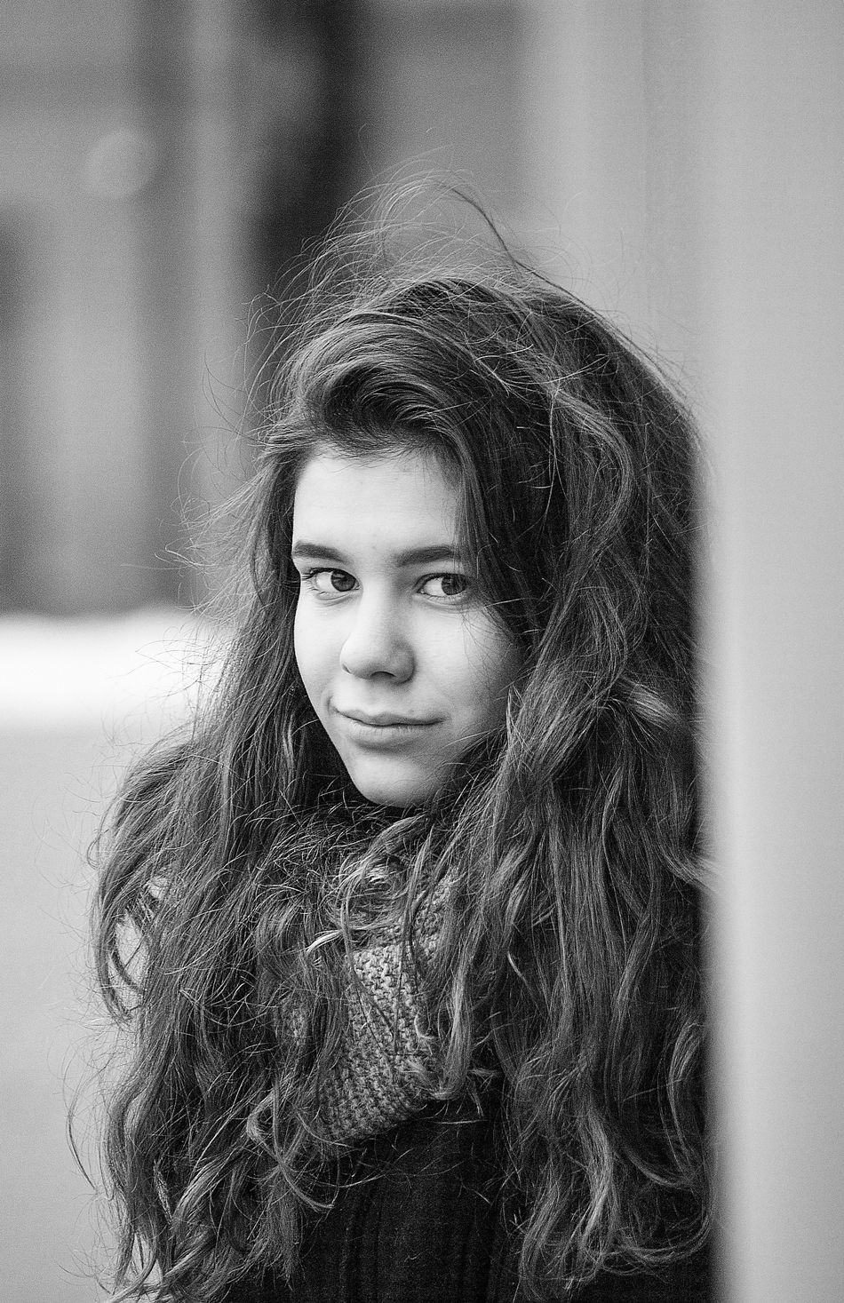 Bw_collection Blackandwhite Blackandwhite Photography Black And White Photography Black&white Blackandwhitephotography Black And White Black & White Long Hair One Person Portrait Looking At Camera Young Adult Russia EyeEm Best Shots EyeEm Best Shots - Black + White 2016 Pelageya
