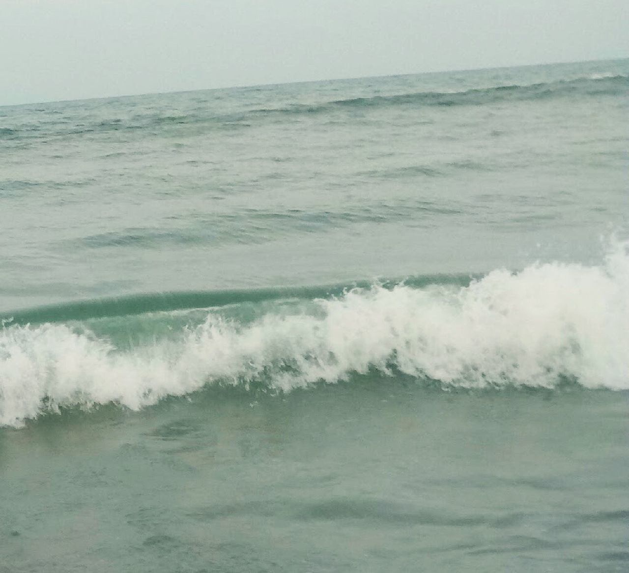 sea, water, wave, nature, beauty in nature, no people, horizon over water, motion, scenics, waterfront, day, outdoors, power in nature, sky